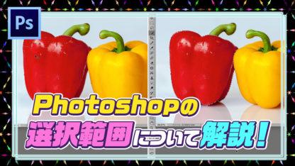 Photoshop(フォトショップ)選択範囲のとり方