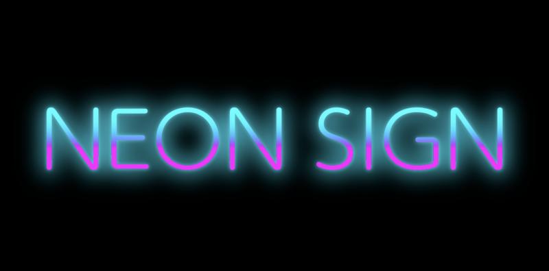 Illustrator_ appearance-neon13a